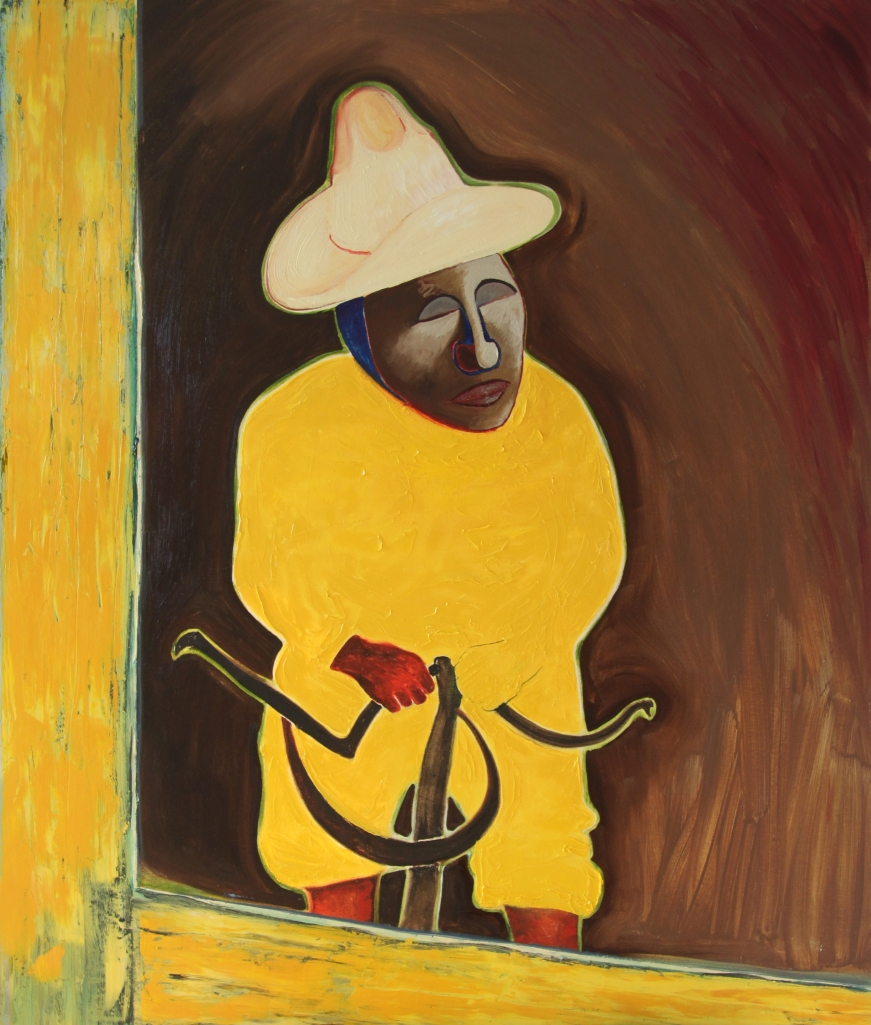 Viejo; oil on canvas; 120cm x 80cm