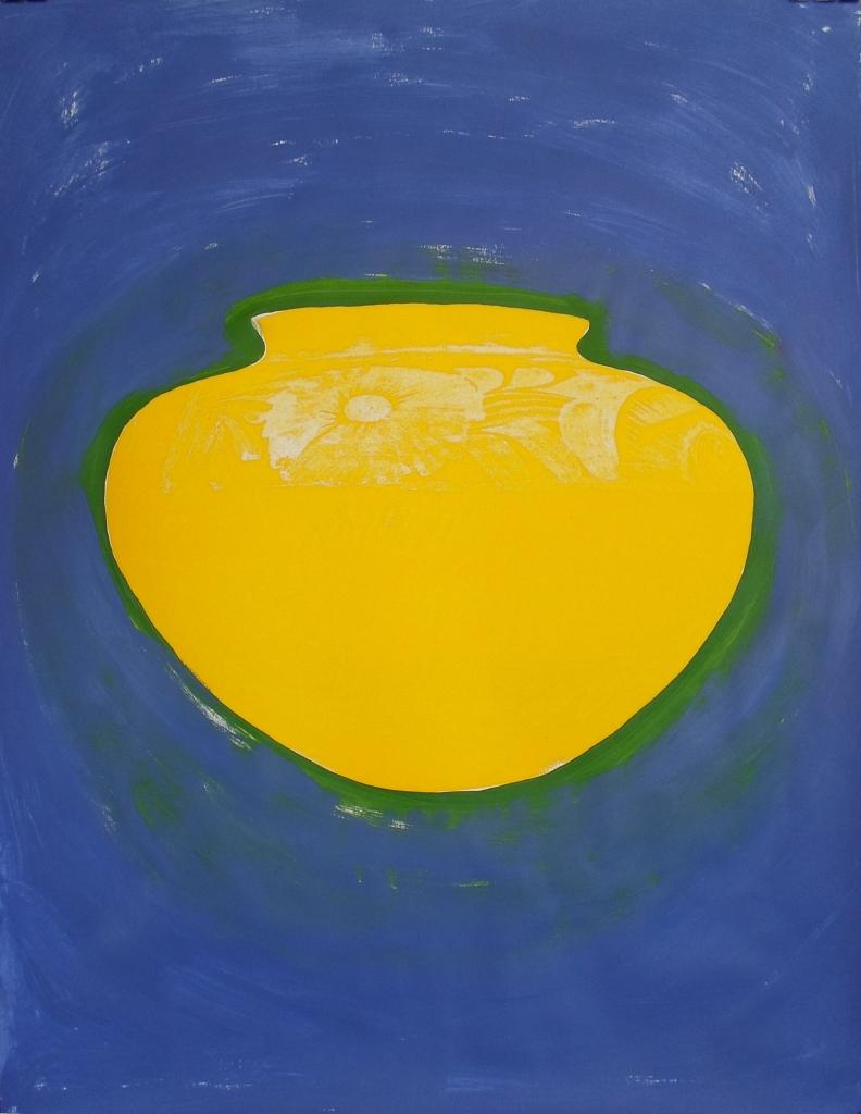 Barro Puro; acrylic + polymer paint on paper; 110cm x 70cm