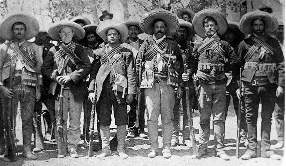 Pancho Villa and me; archival gicleé print; 46cm x 61cm