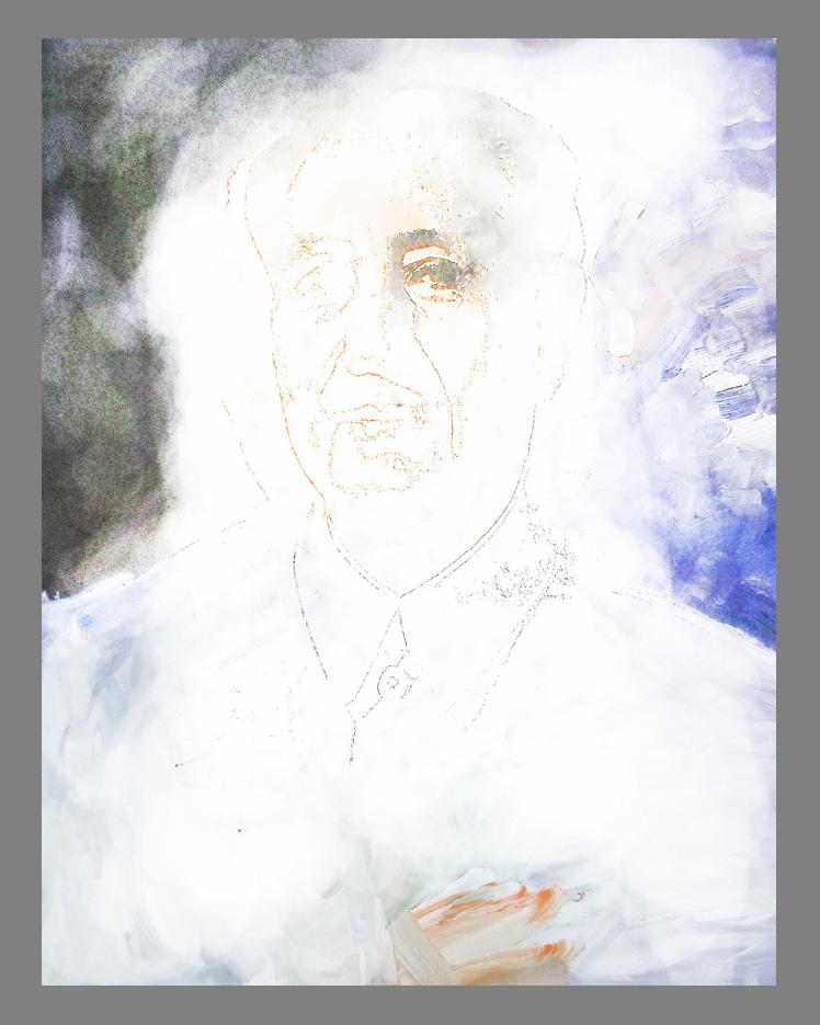 'Nearly-Erased Andy Warhol'